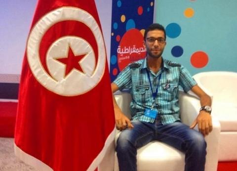 """""""صحفي ومدّون""""..""""محمد"""" جاء من تونس لمنتدى شباب العالم: لتوسيع علاقاتي"""
