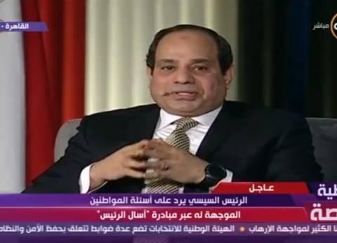 السيسي: الدولة متزنة في ردود فعلها.. ولن نسمح بالمساس بأمن مصر القومي