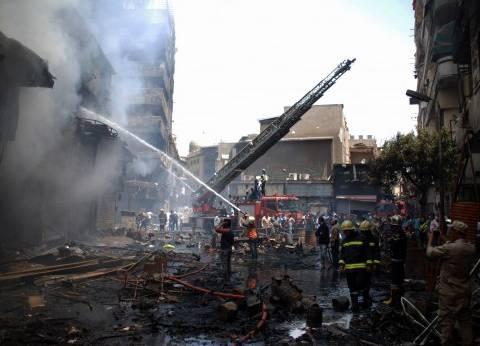 مصرع 3 عمال وإصابة 4 آخرين إثر حريق خط غاز بالعين السخنة