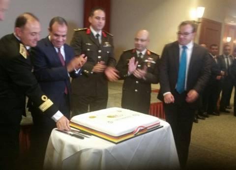 """السفارة المصرية بألمانيا تحتفل بـ""""ذكرى أكتوبر"""".. وتكرّم """"الرفاعي وفهمي"""""""