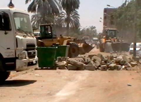 رفع 66 طن مخلفات بسمالوط وديرمواس في المنيا