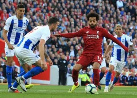 بالفيديو| محمد صلاح يحصد هدف الشهر مع ليفربول