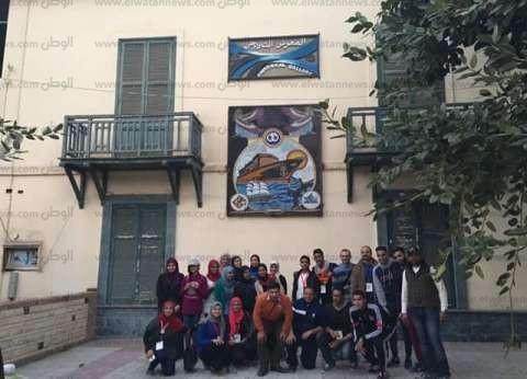 بالصور| شباب الجامعات المصرية في زيارة لقناة السويس ومعالم الإسماعيلية