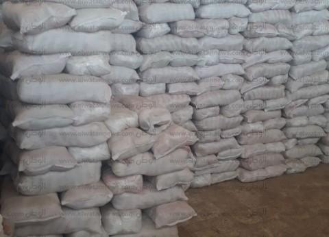 ضبط 20 طن أرز مخزن للبيع في السوق السوداء بحوزة 3 تجار في البحيرة