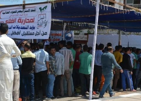 بالصور  تكدس أمام لجان الاستفتاء على تعديل الدستور في شرم الشيخ