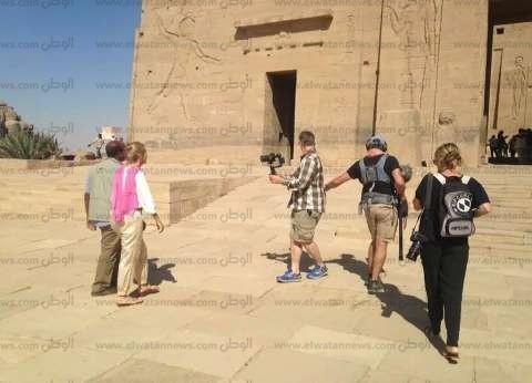 بالصور| وفد أسترالي ينتهي من تصوير فيلم لتنشيط السياحة بمصر