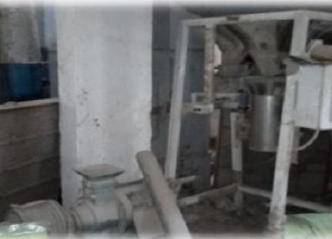 ضبط 22 طن مواد غذائية فاسدة داخل مصنع غير مرخص في الإسكندرية