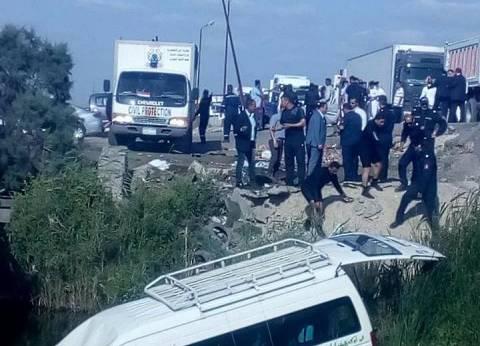 حوادث الطرق تحصد 3 قتلى و39 مصاباً فى 3 محافظات