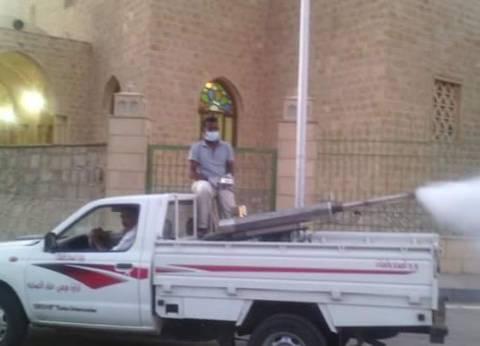 رئيس مدينة مرسى علم: تعقيم قرية الشيخ الشاذلي استعدادا للمولد