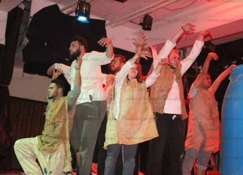 """""""هذه ليلتي"""" تحصد المركز الأول في الملتقى المسرحي الـ 21 بجامعة طنطا"""