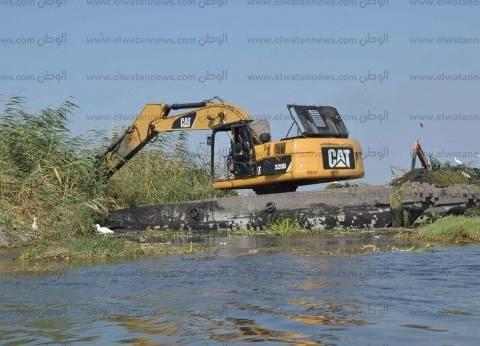 الثروة السمكية: إزالة 245 حالة تعدي على بحيرة المنزلة