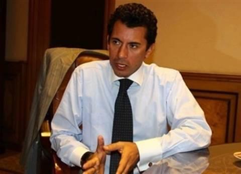 وزير الرياضة: «حملة لتوعية الجماهير قبل العودة.. وجلسة مع الأمن لمناقشة قاعدة البيانات»
