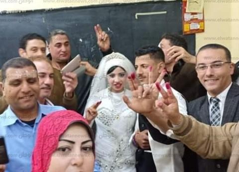 """""""الانتخابات"""": المصريون سطروا تاريخ جديد في الاستفتاء"""