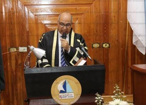 رئيس جامعة كفر الشيخ: هدفنا تعزيز القدرات البحثية والعلمية