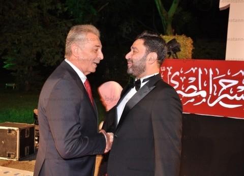 سوسن بدر ومحمود حميدة في افتتاح quotالقومي للمسرحquot