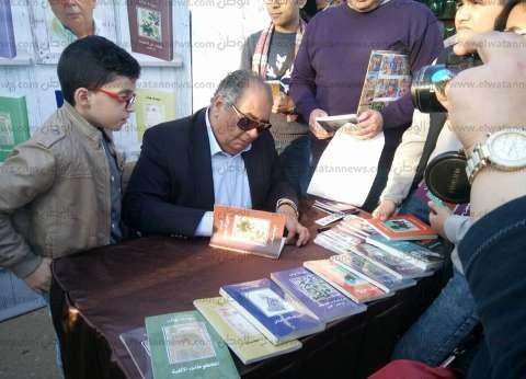 7 فبراير.. يوسف زيدان يوقع كتبه للمرة الثانية بمعرض الكتاب