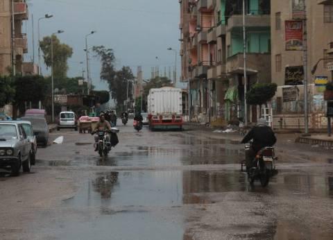 """سقوط أمطار غزيرة على """"الطور"""".. والوحدة المحلية تعلن حالة الطوارئ"""