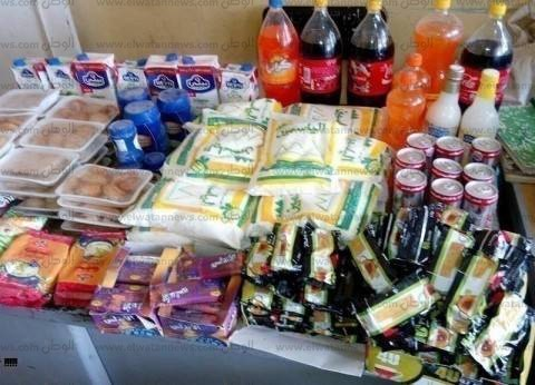 ضبط 239 عبوة مواد غذائية منتهية الصلاحية في حملة مكبرة بمطروح