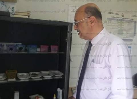 """مدير الشؤون الوقائية بـ""""صحة البحيرة"""" يتابع 3 وحدات بإيتاي البارود"""