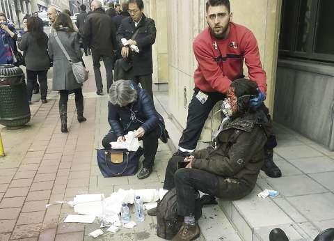 الحادث فى «بلجيكا».. والمحققون: «مصريون على تويتر»