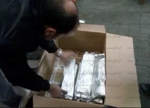 """""""الداخلية"""" تحبط تهريب 2 طن حشيش و5 ملايين قرص مخدر في ميناء دمياط"""