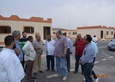 نائب وزير الإسكان يتفقد عددا منالمشروعات بمدن البحر الأحمر