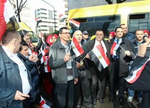 نشرة انتخابات الرئاسة| إقبال كبير من المصريين بالخارج على التصويت