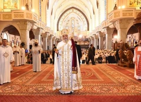 البابا تواضروس بعد تدشين الكاتدرائية: اليوم فرح وشكر