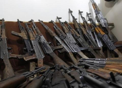 الأمن العام: ضبط 215 قطعة سلاح ناري و257 قضية مواد مخدرة