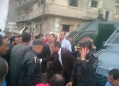 بالصور| مدير أمن الغربية: القبض على 13 متهما في اشتباكات بين عائلتين بالمحلة