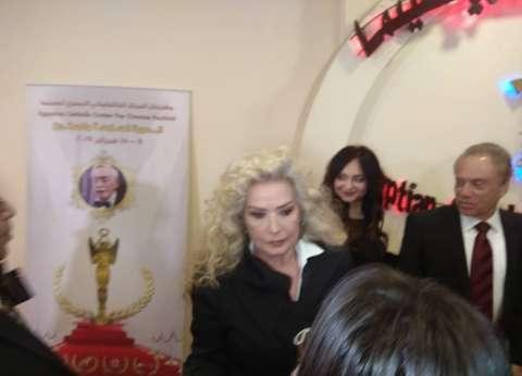 """هشام سليم ورغدة والفيشاوي أول الحضور في افتتاح """"الكاثوليكي للسينما"""""""