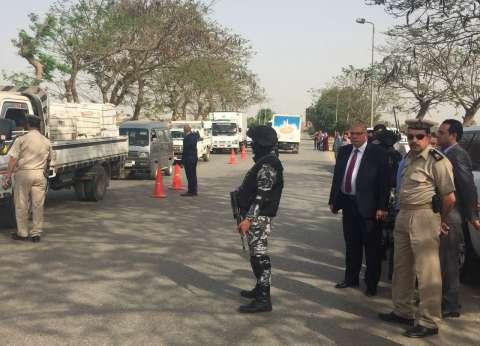 مدير أمن القليوبية يقود حملة أمنية بشبين القناطر