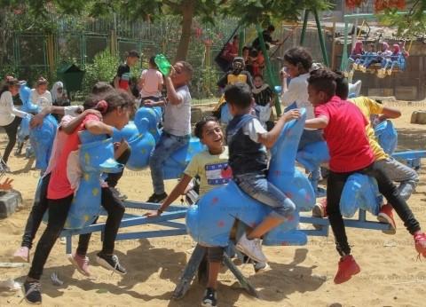 القاهرة والجيزة: إقبال كثيف على حديقتى الحيوان والفسطاط.. ومواطنون: «جينا نفرح»