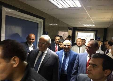 وزير التنمية المحلية يصل كفر الشيخ لتفقد مشروعات الثروة السمكية