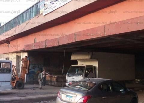 تحويلات مرورية لإنشاء كوبري محور روض الفرج بمنطقة شبرا لمدة شهرين