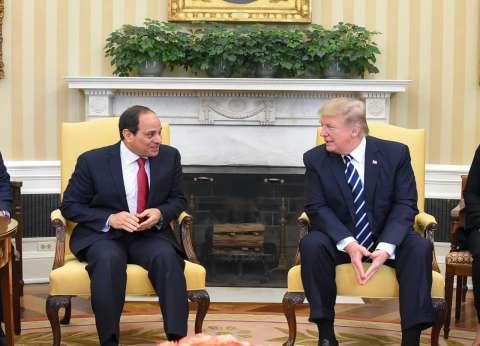 جدول أعمال ترامب اليوم: لقاء السيسي وعقد قمتين واجتماعات ثنائية