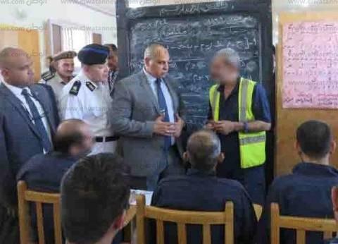 مدير مصلحة السجون يتفقد أحوال نزلاء سجن أبوزعبل