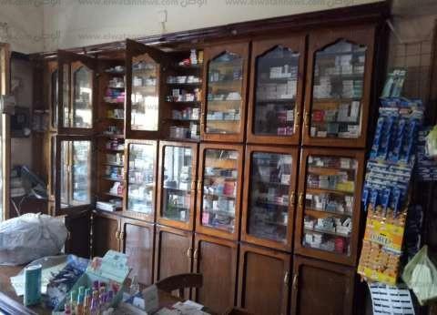 تشميع صيدليتين بدون ترخيص وضبط 30 ألف قرص أدوية في الشرقية