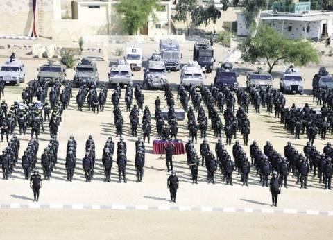 الجيش والشرطة يتسلمان 486 لجنة انتخابات بأسوان لتأمينها