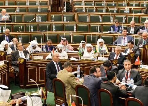 رئيس الاتحاد البرلمانى العربي: نحي أهل مصر ونهنئ السيسي على ثقة شعبه