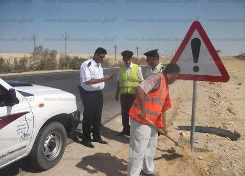سيولة مرورية بالطرق الواصلة بين القاهرة والجيزة باستثناء كوبري أكتوبر