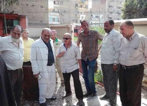 """""""مياه القناة"""": """"مواصلة تطهير شبكة صرف سوق الجمعة بحي ثان"""""""