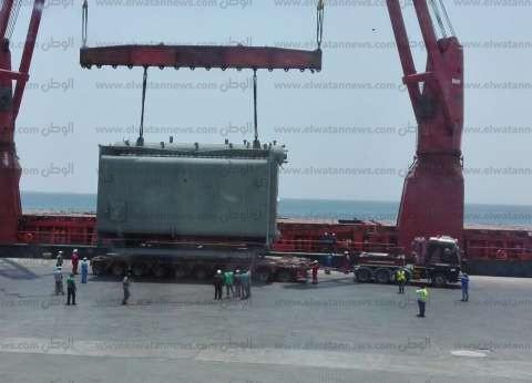 ميناء نويبع يستعد اليوم لاستقبال 250 راكبا و 9 تريلات