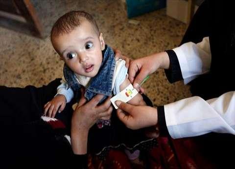 """تستهدف 5 ملايين طفل.. تدشين حملة تطعيم ضد """"شلل الأطفال"""" باليمن"""