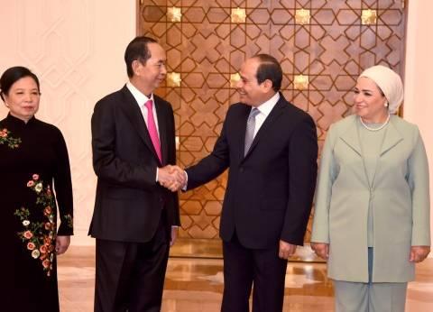 إنفوجراف| خريطة العلاقات المصرية الفيتنامية خلال الأربع سنوات الماضية