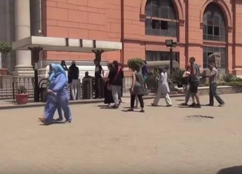 """المتحف المصري يستقبل جمهوره بـ""""المارشات والمعزوفات العسكرية"""" احتفالا بانتصارات أكتوبر"""