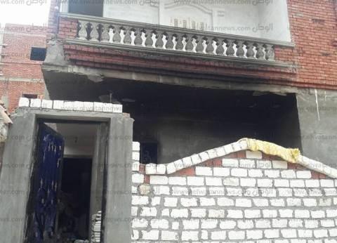 """حريق يلتهم أثاث منزل بحي """"ابني بيتك"""" بمركز بئر العبد في شمال سيناء"""
