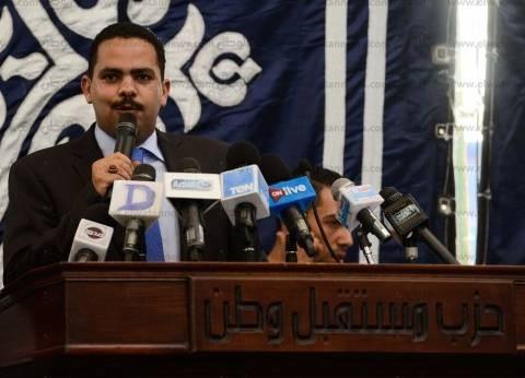 """رئيس """"مستقبل وطن"""": نقف خلف القيادة السياسية صفا واحد"""