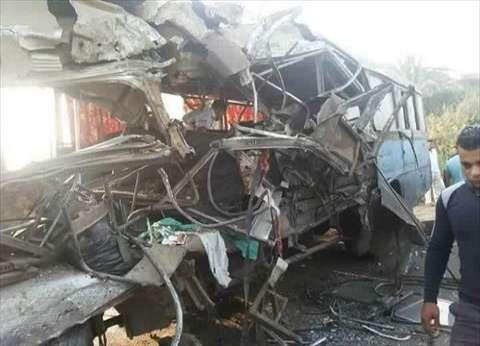 """نقل 6 مصابين في حادث """"أتوبيس السويس"""" لمستشفى بالقاهرة"""