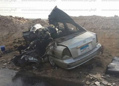 إصابة 13 شخصا في حادث سير بالبحر الأحمر